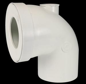 Coude pour canalisation PVC Ø 100 mm
