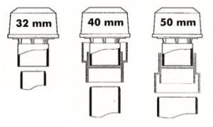 Schémas aérateur à membrane