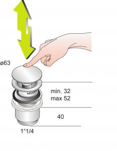 Schéma Bonde clic-clac avec ou sans lanterne de trop-plein