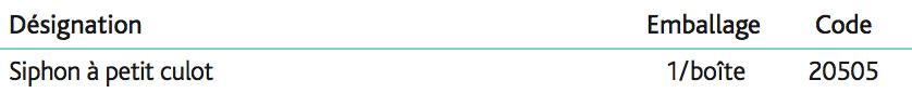 Siphon à culot démontable Laiton Siphon réglable en hauteur 1''1_4 garde d'eau 35mm